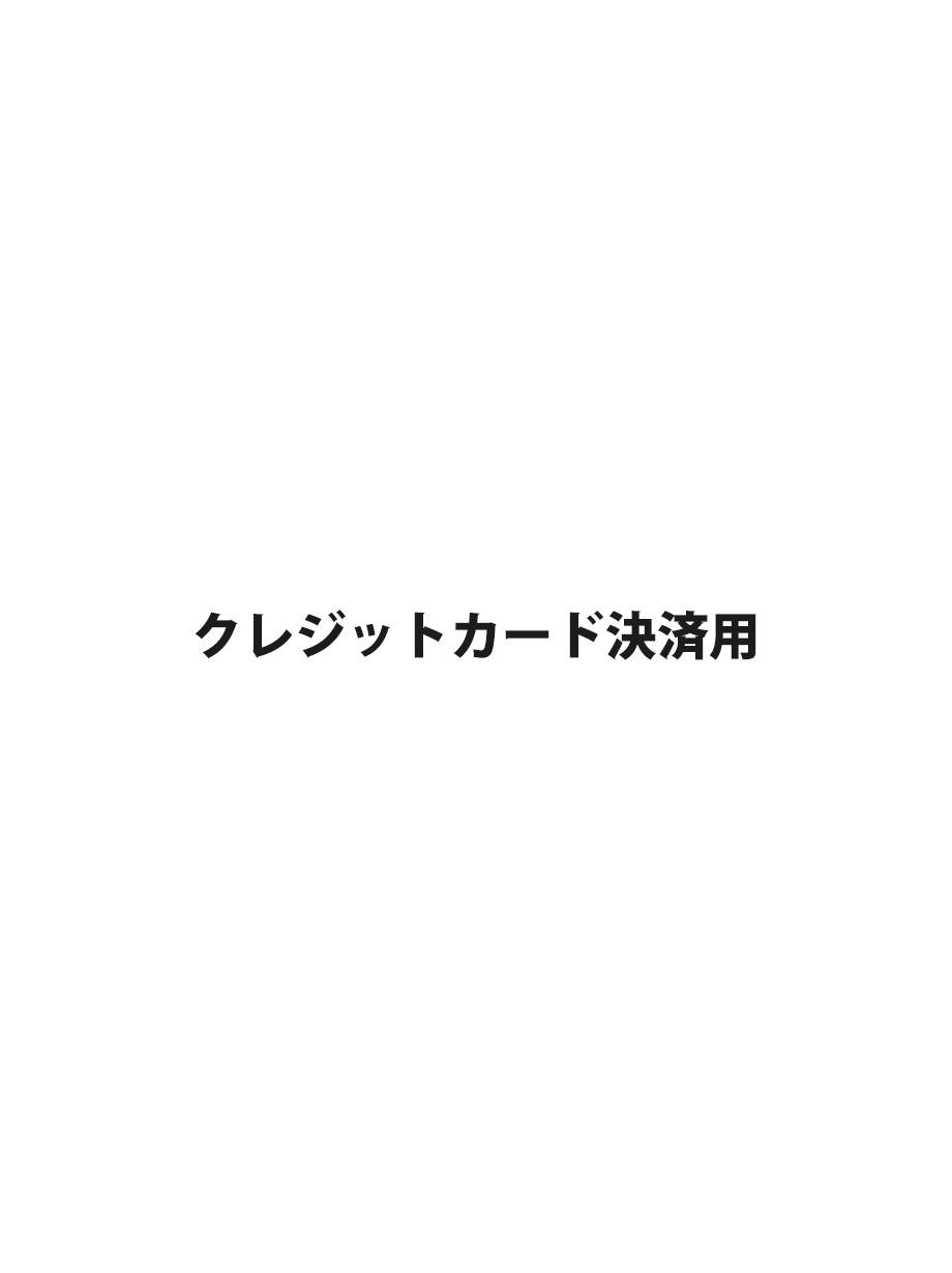 クレジットカードでの商品ご予約用(ご注文後差替えいたします)[¥5,500]