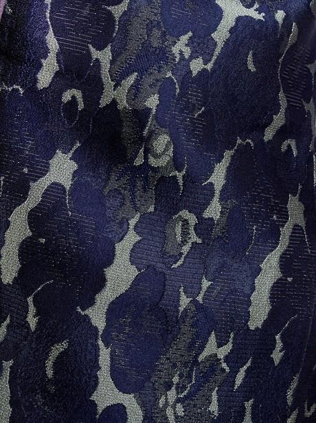 グレー地に陣羽織・幾何学袴(小学生)/卒業式